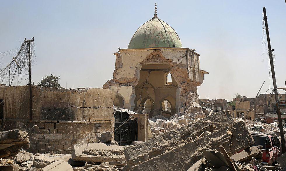 Mosul moschea Al-Nuri