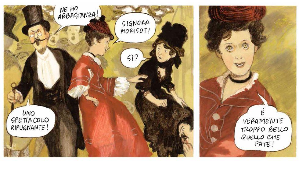 """Le variazioni d'Orsay"" di Manuele Fior"