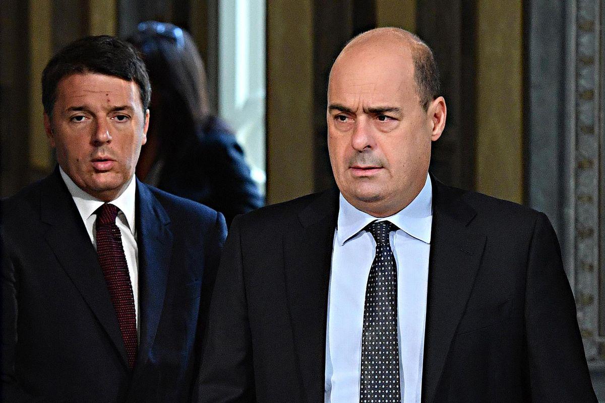 Renzi finge di picconare il governo. In realtà l'obiettivo è demolire il Pd