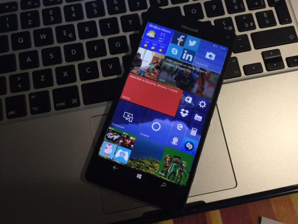 lumia 950 xl windows 10