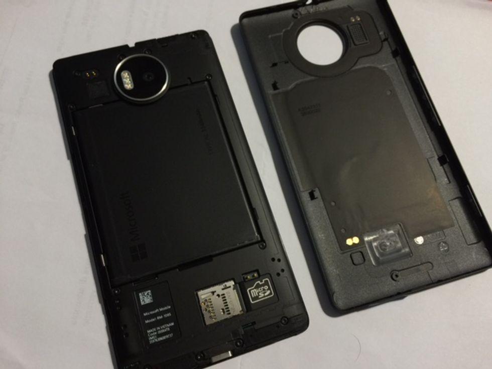 lumia 950 xl hardware