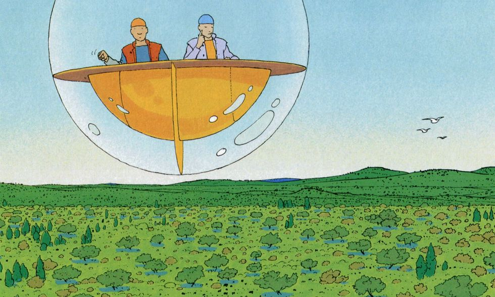 'Il mondo di Edena' di Moebius