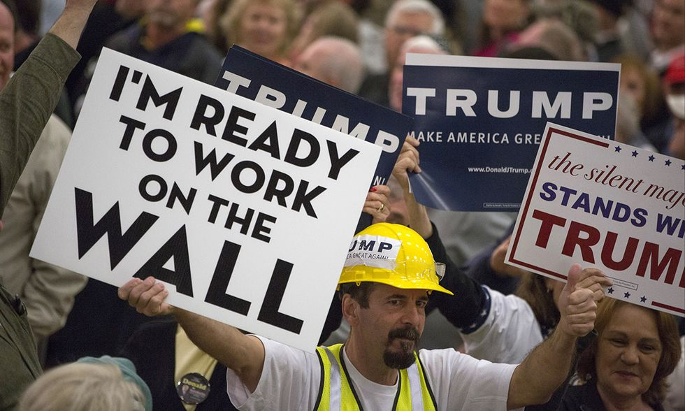 Primarie USA: sostenitori di Donald Trump