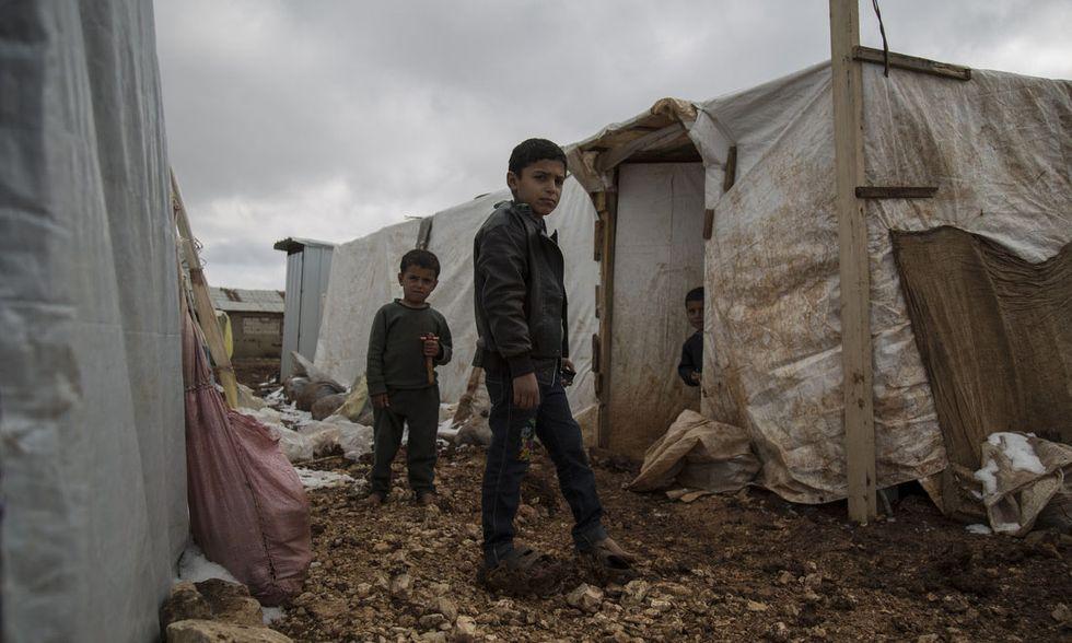 Rifugiati siriani in Libano