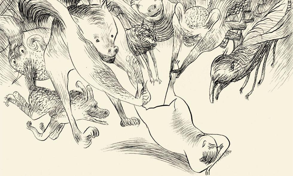 'Ghirlanda' di Kramsky e Mattotti