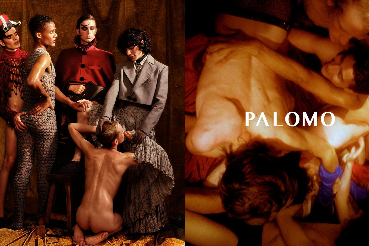 Palomo Spain's New Campaign Is a Queer High-Fashion Orgy
