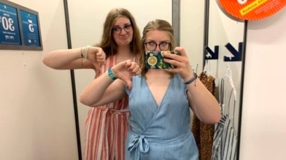 To All The 'Bigger' Girls Who Have Cried In A Dressing Room, It's Not Your Body — It's The Clothes