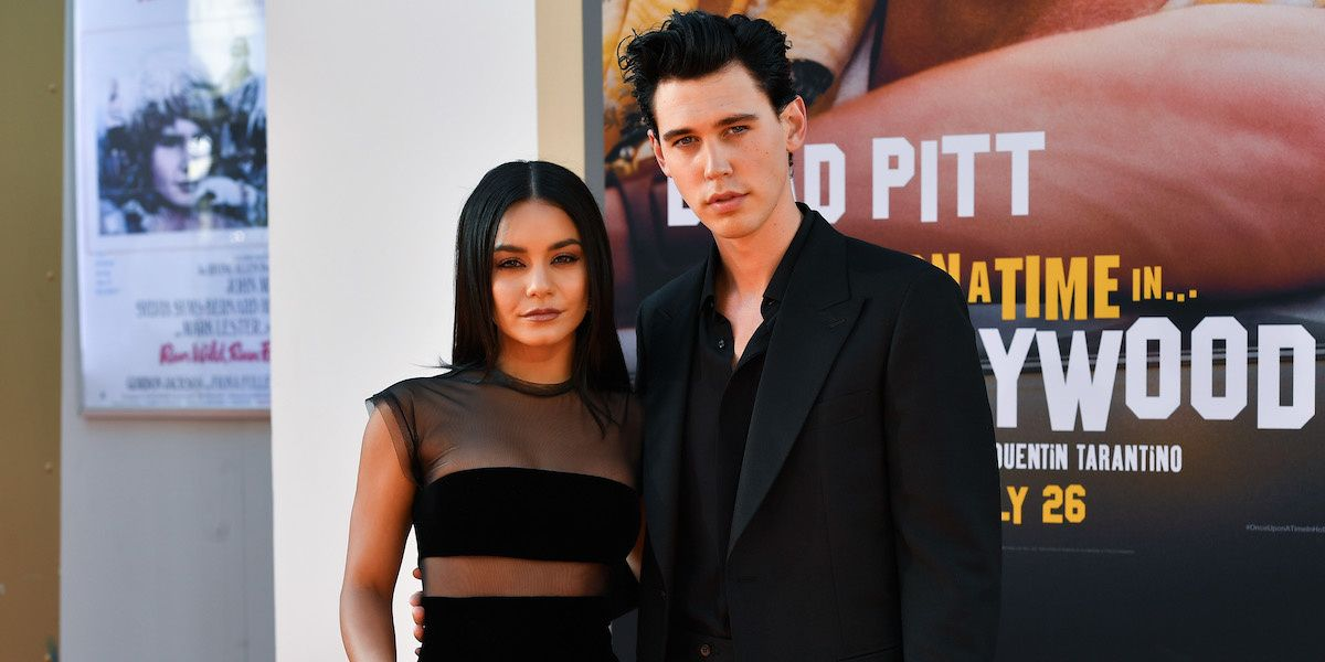 Vanessa Hudgens And Austin Butler Are The Ultimate Goth Couple