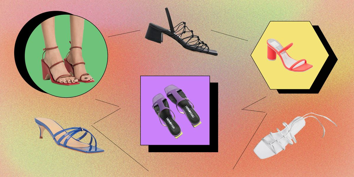 14 Strappy, Square-Toed Sandals We'll Wear Right Into Fall