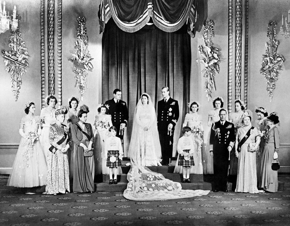 ELIZABETH II-WEDDING