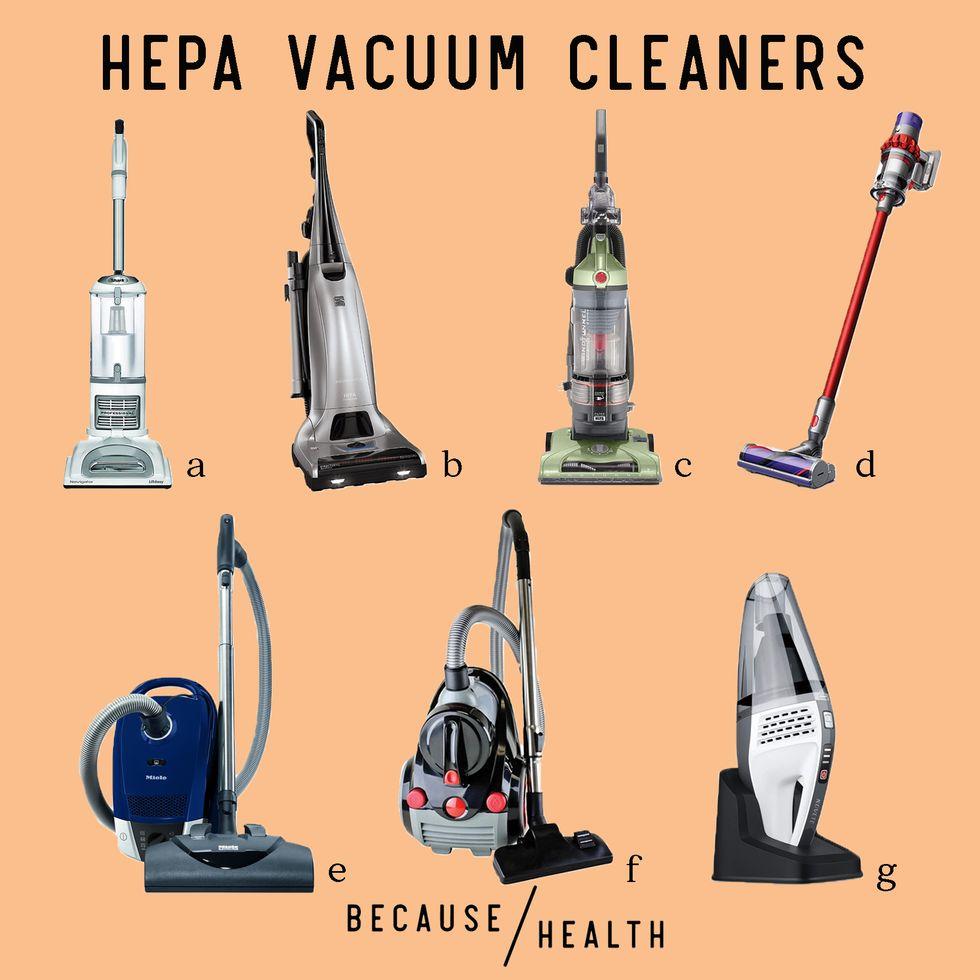 7 HEPA Filter Vacuums