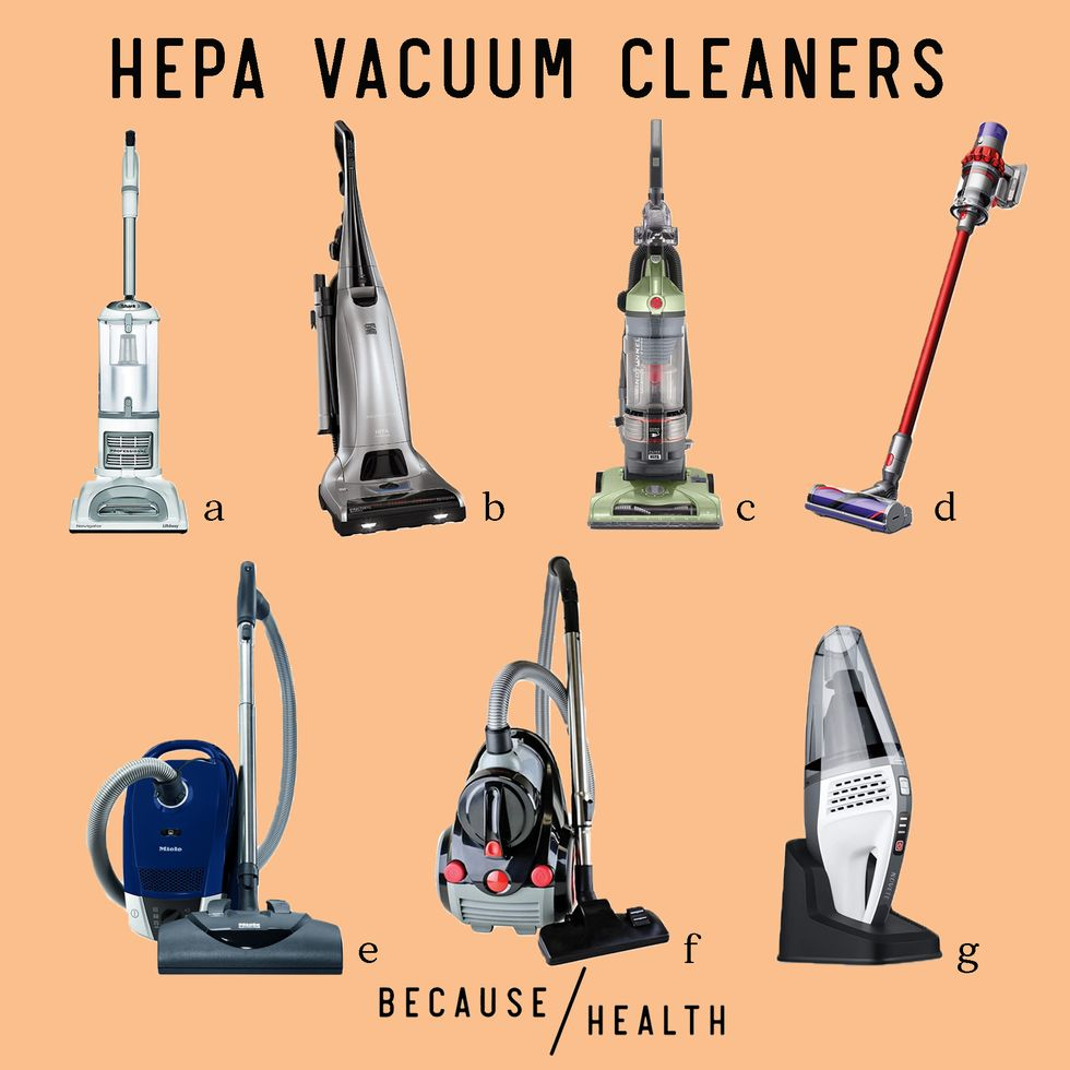 7 HEPA Filter Vacuums