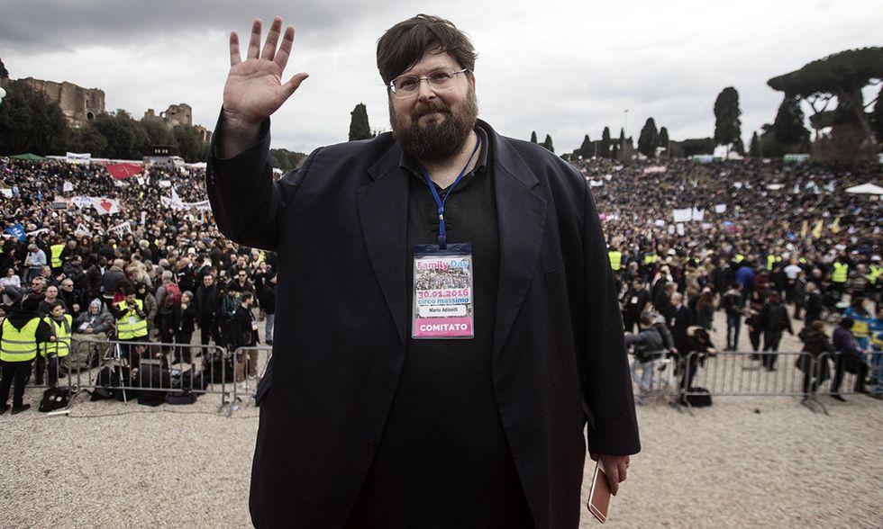 Candidati sindaco Roma: Mario Adinolfi