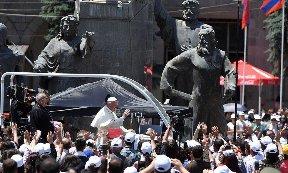 Papa Francesco in Armenia