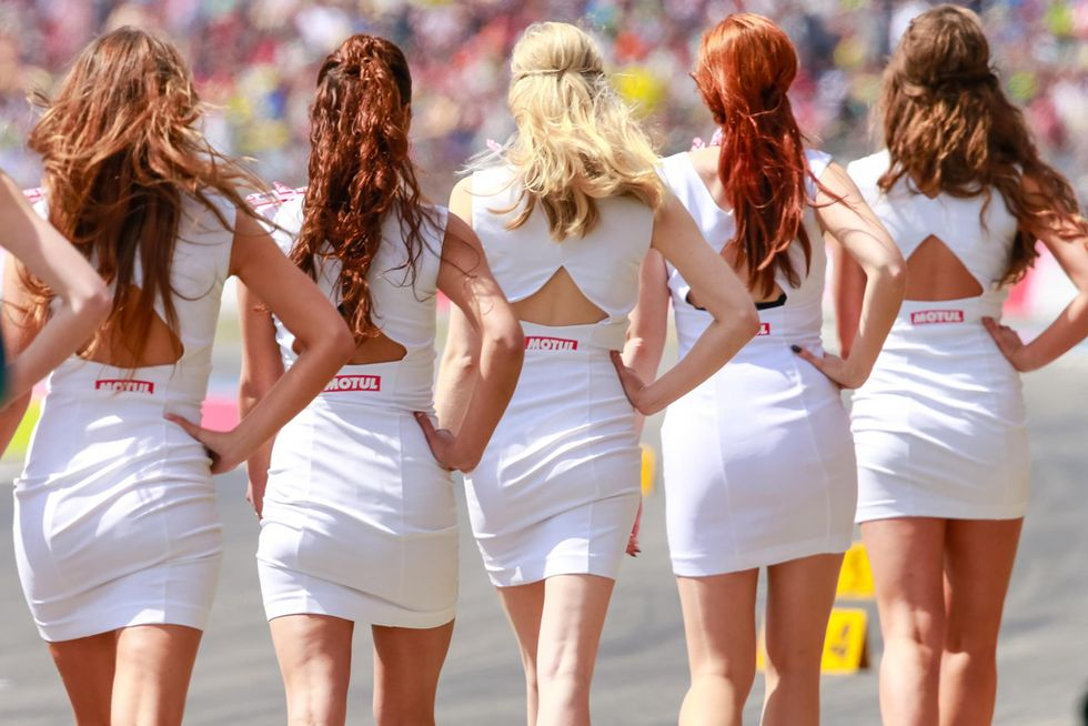 Grid Girls MotoGP Assen 2016