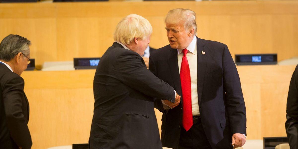 Peter Dykstra:  The Trump & Boris Show
