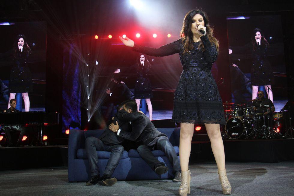 Laura Pausini live all'Auditorio Nacional di Citt\u00e0 del Messico
