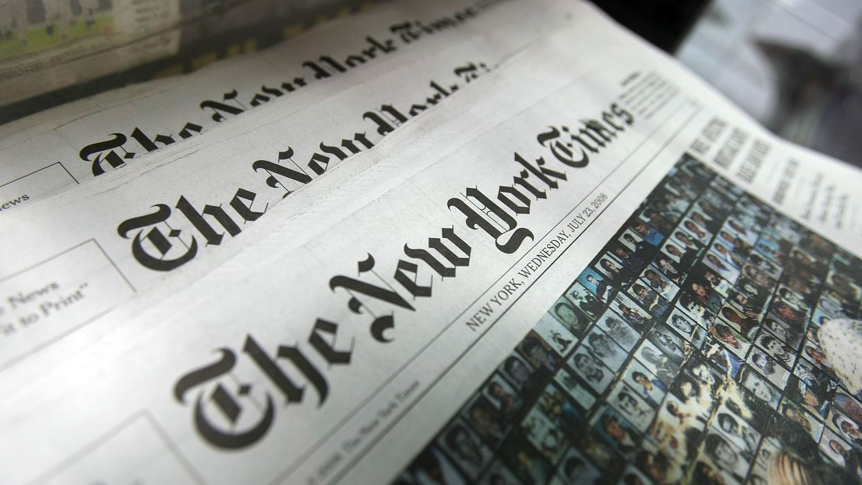 Prominent liberals lost it over NYT headline that accurately characterized Trump's remarks about El Paso: 'the [N]ew [Y]ork [T]imes wants us dead'