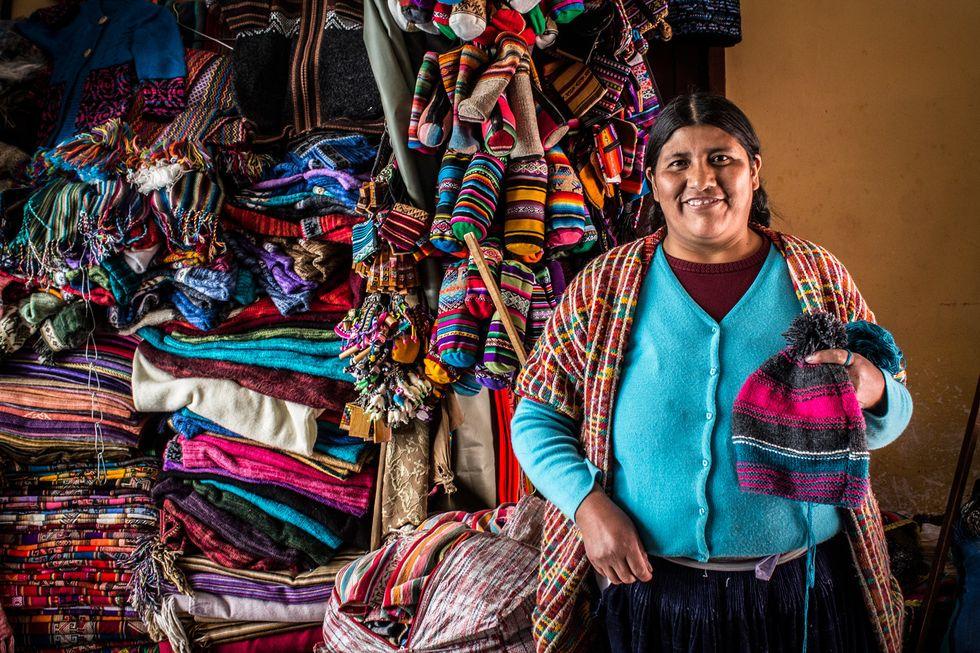 Social Fashion Line beyondBeanie Changes The Lives Of Bolivia's Female Artisans