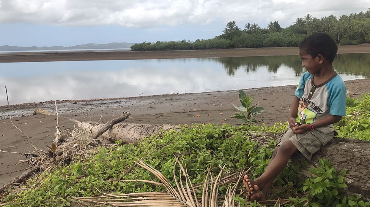Fiji Unveils Plan to Fight Climate Crisis, Condemns 'Grossly Irresponsible and Selfish' Inaction of World Powers