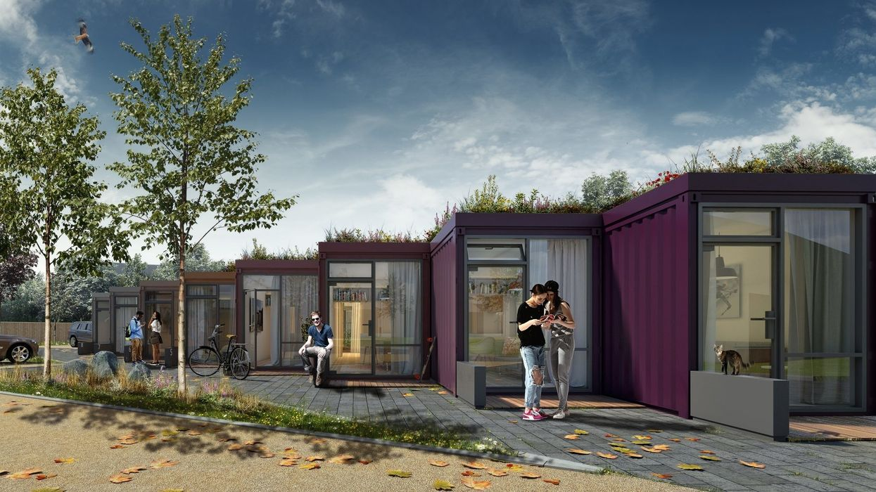 FBM Architects shipping container houses