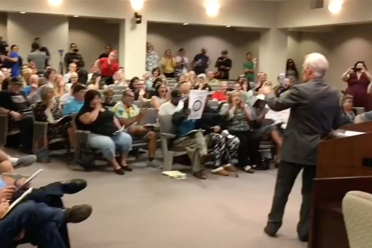 'Straight Pride' leader slips up at City Council meeting: 'We're a totally peaceful racist group'