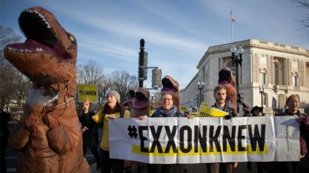 ExxonMobil Accused of Pressuring Witnesses in Climate Fraud Case