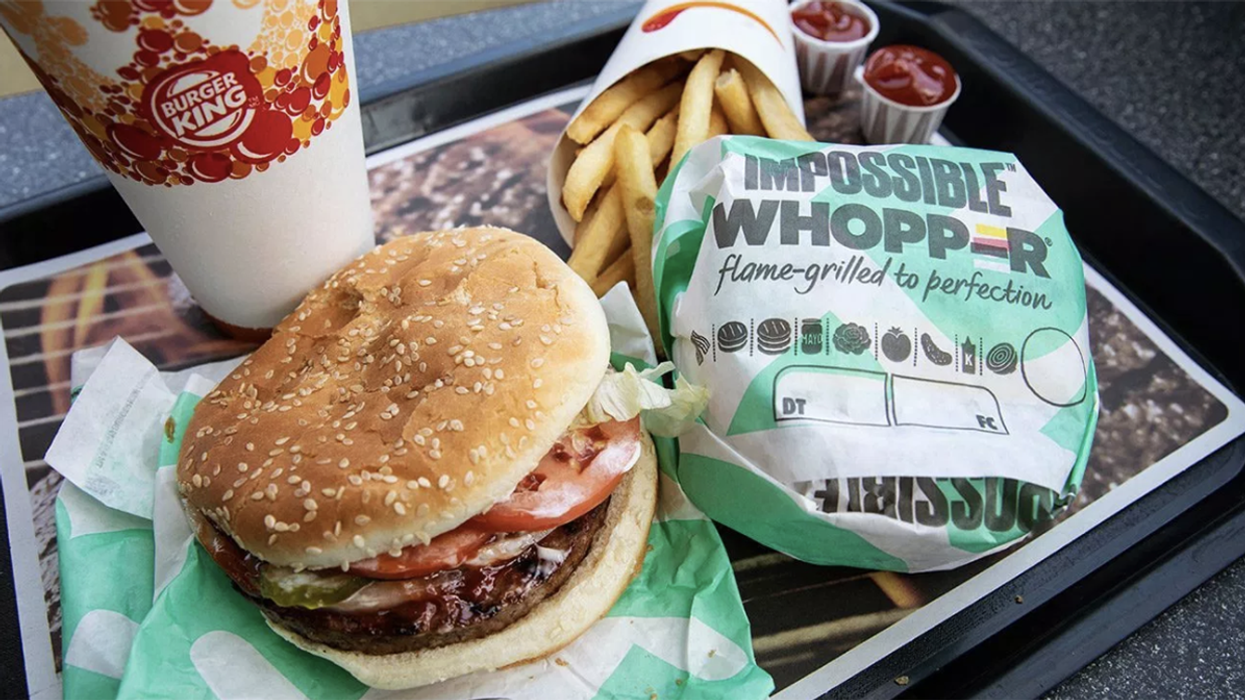 Why Your Meatless Fast-Food Burger Could Be Covered in Animal Residue