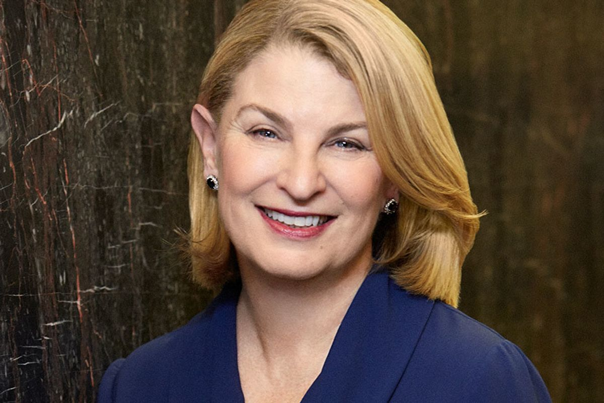Women are still underrepresented in leadership roles. Executive Sally Susman hopes to change that.