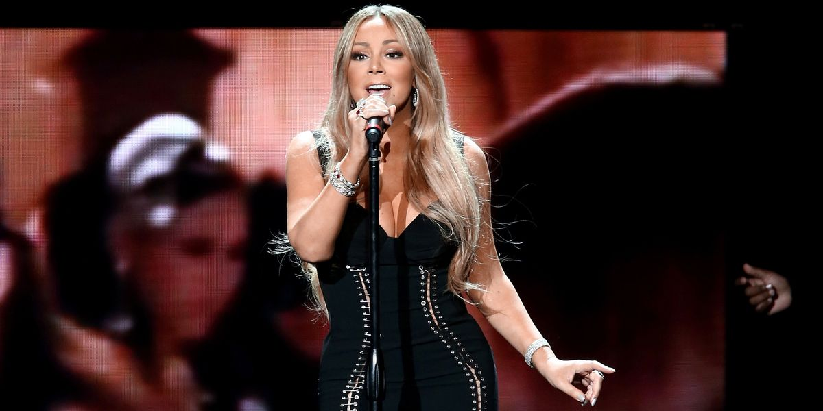 Mariah Carey Just Poked Fun at 'Glitter'