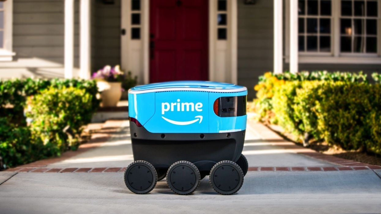 Amazon's 'adora-bots' are now making deliveries