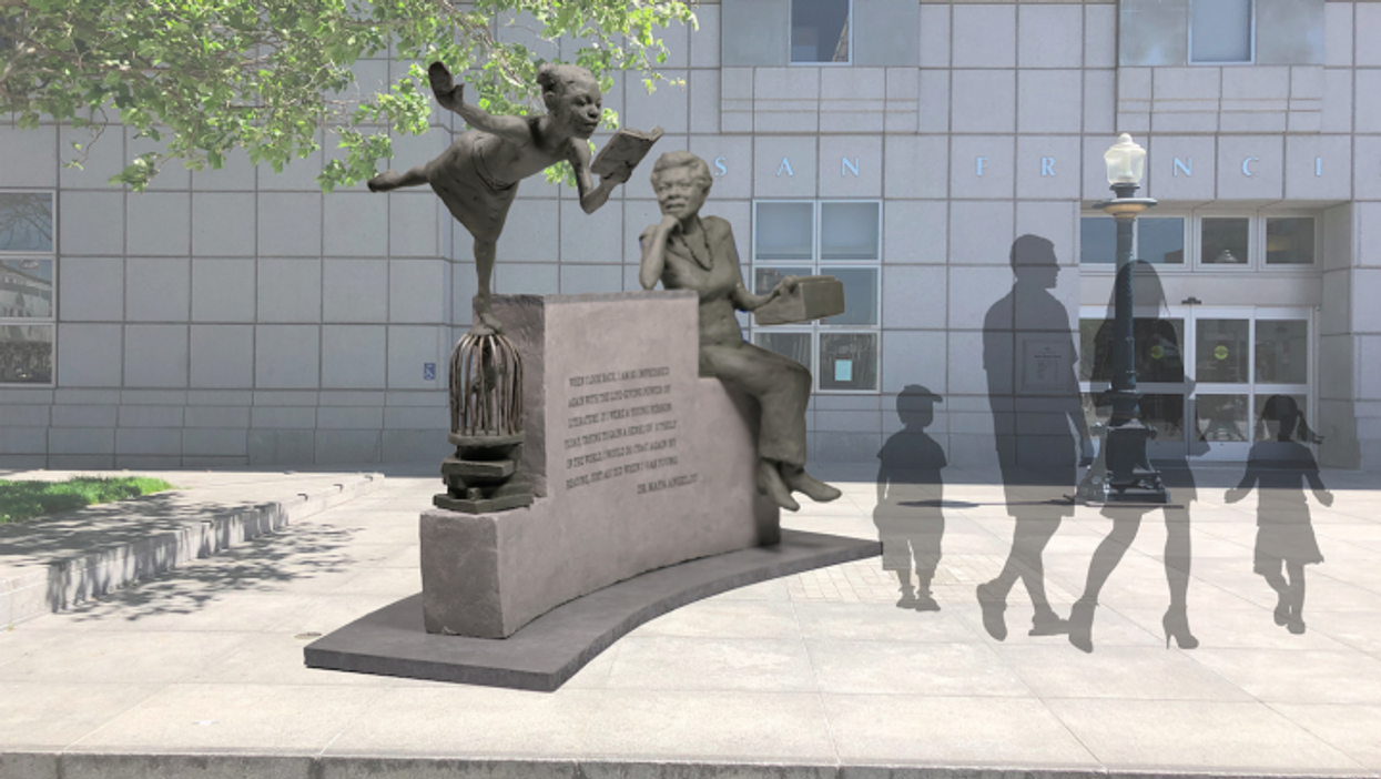 Only two of San Francisco's 87 public sculptures depict women — its newest will honor Maya Angelou