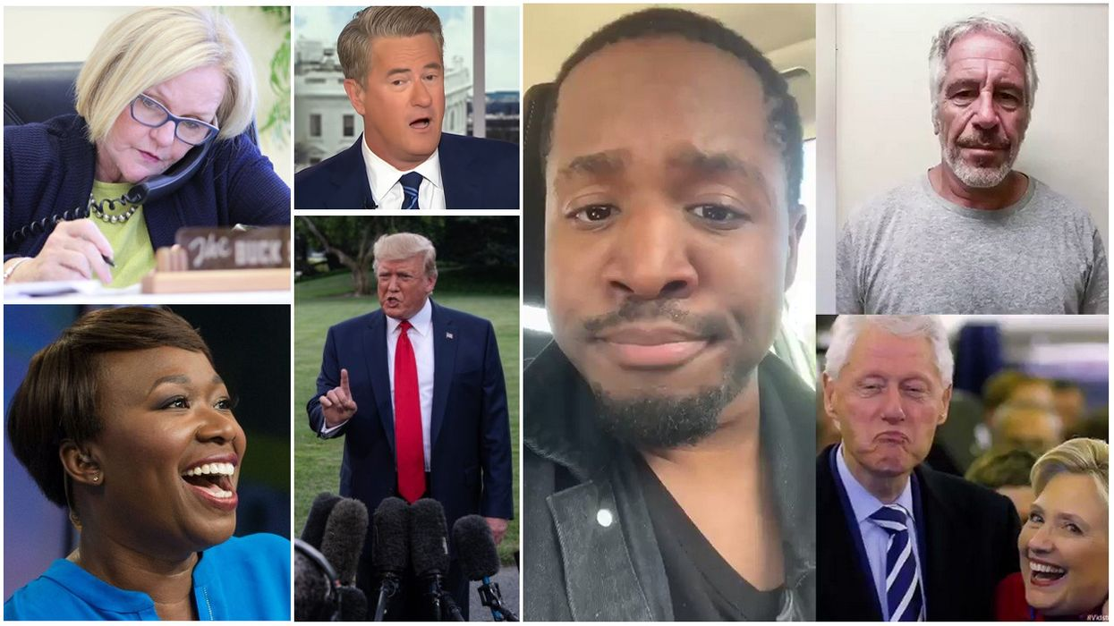 Trump shares Epstein death conspiracy theory--so did ALL THESE DEMOCRATS