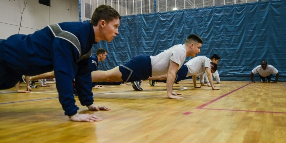 The Air Force wants to lessen the stress of taking a PT test