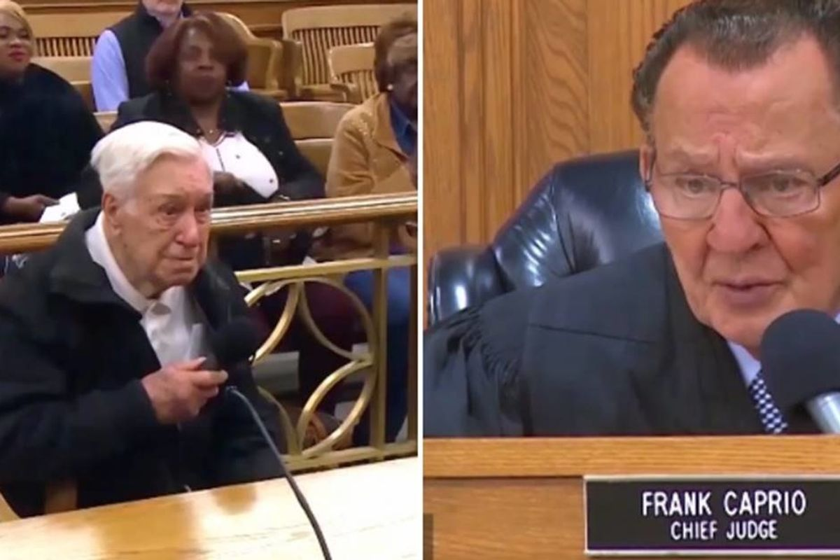 Judge's compassion with 96-year-old man is more of what our justice system needs