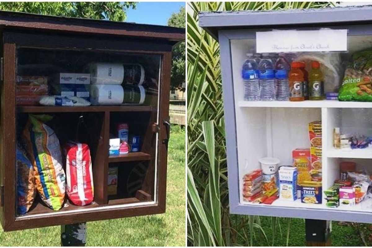These 'public pantries' are popping up all around the world to help fight hunger