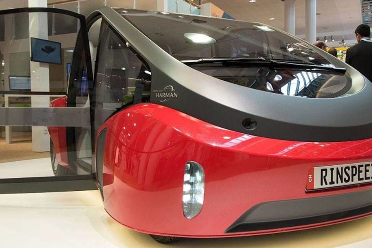The car of the future is so green, it has a garden beneath the hood