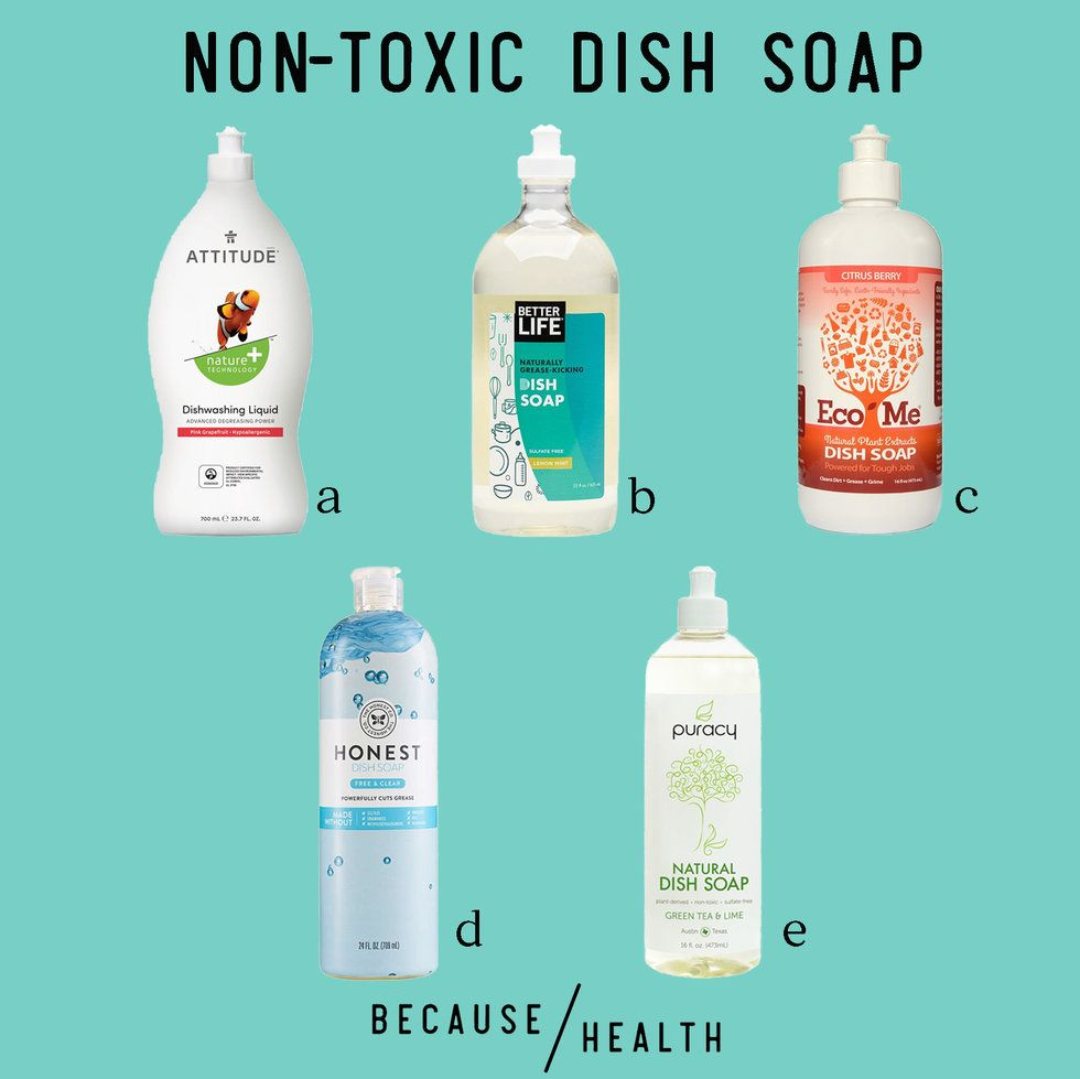 The Best Non-Toxic Dish Soaps - Because Health
