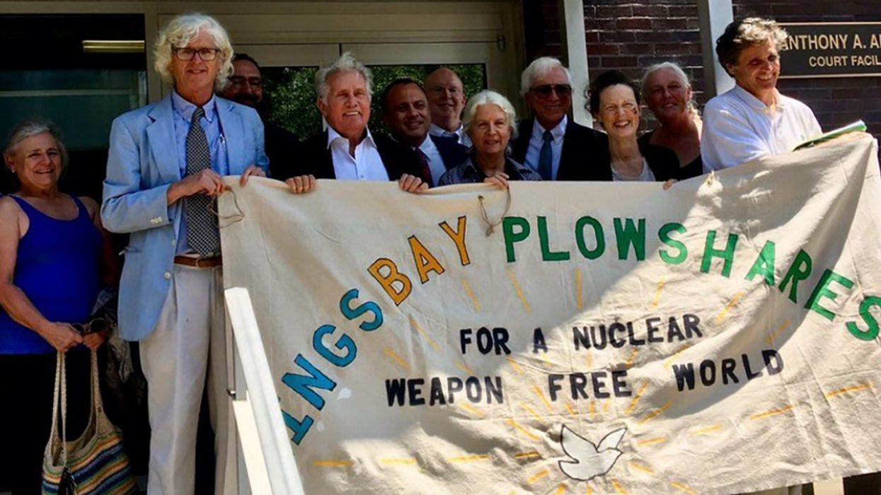 Peace Activists Face 25-Year Sentence for Disarmament Action at Nuclear Submarine Base