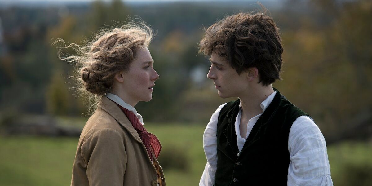 Saoirse Ronan And Timothée Chalamet Try Dating Again In 'Little Women' Trailer