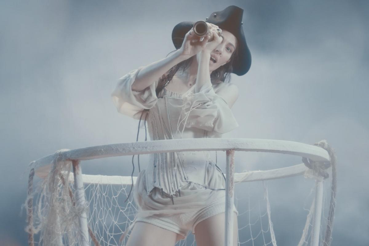 What Would Caroline Polachek's Pirate Ship Look Like?