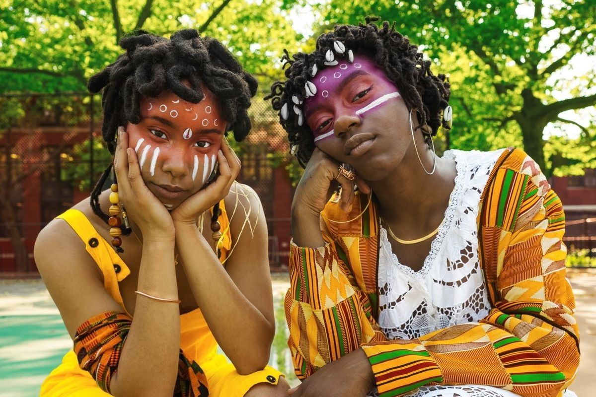Meet OSHUN, the Mystical Music Duo Channeling Ancestral Magic
