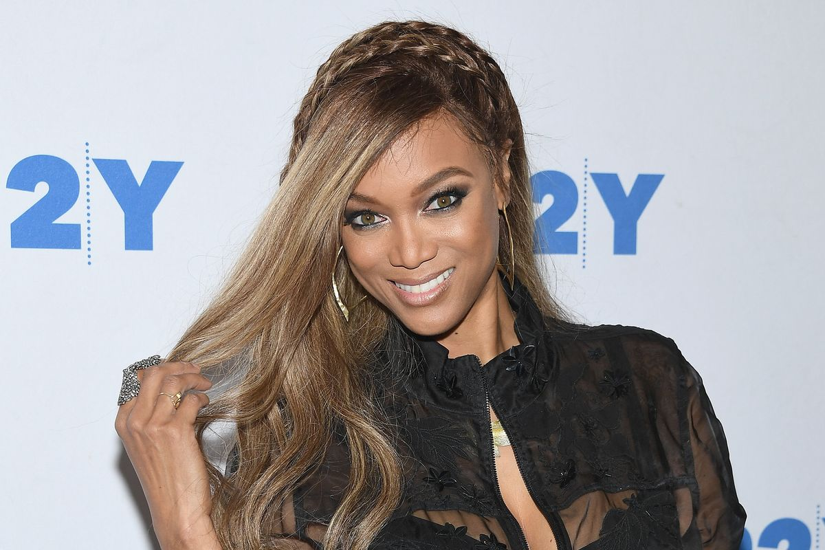 Tyra Banks Leapt Out of a Car to Help an Aspiring Model