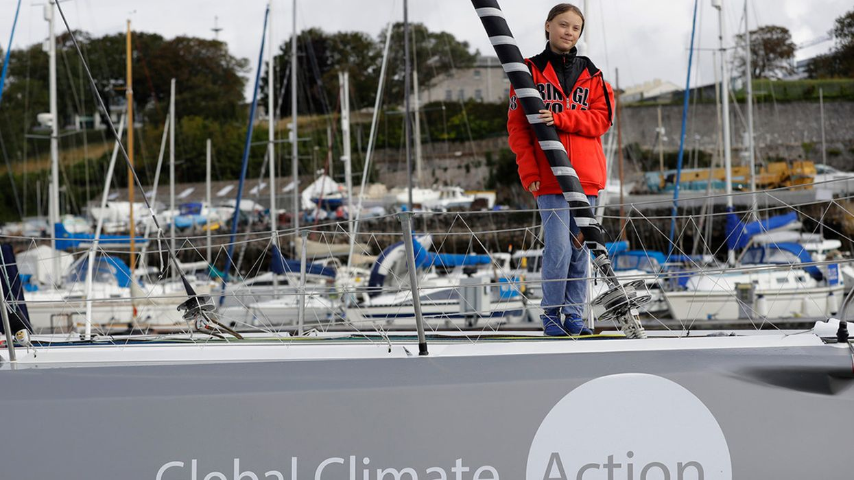 Greta Thunberg to Set Sail for NY Climate Summit