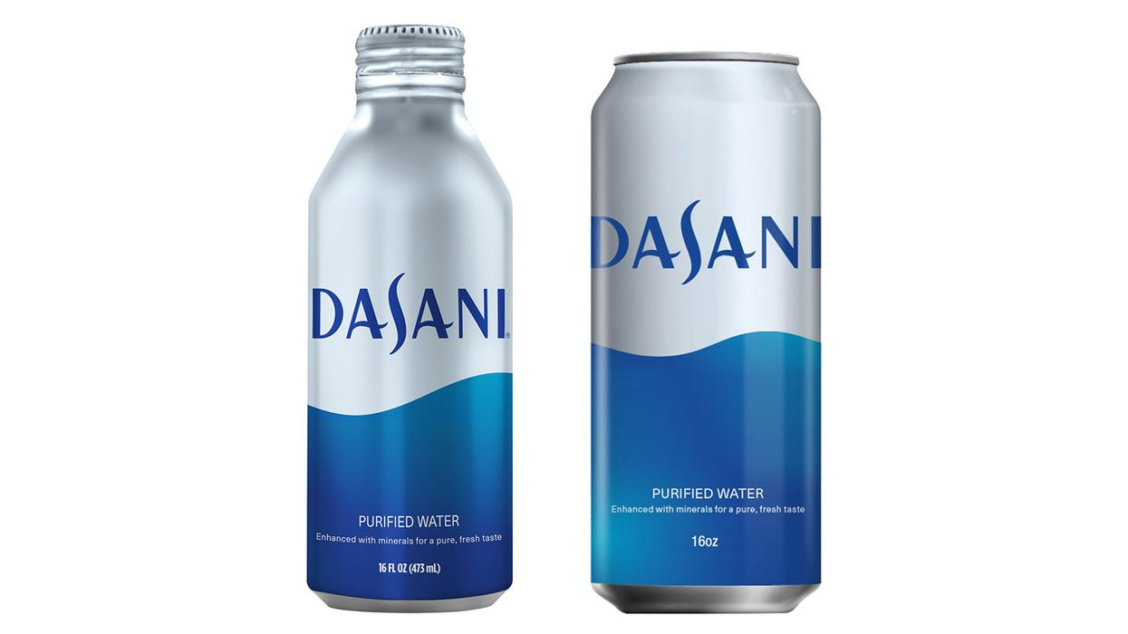 Dasani Water Will Soon Be Sold in Aluminum Cans