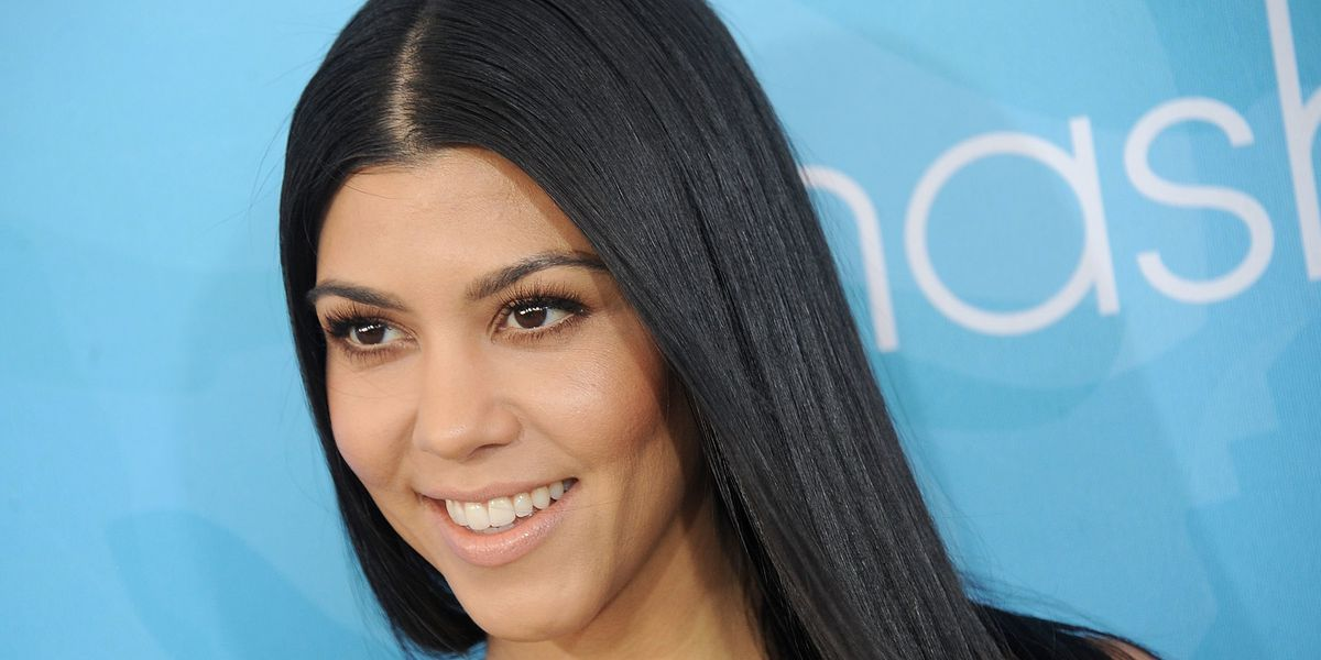 Kourtney Kardashian Shows Off Her Stretch Marks
