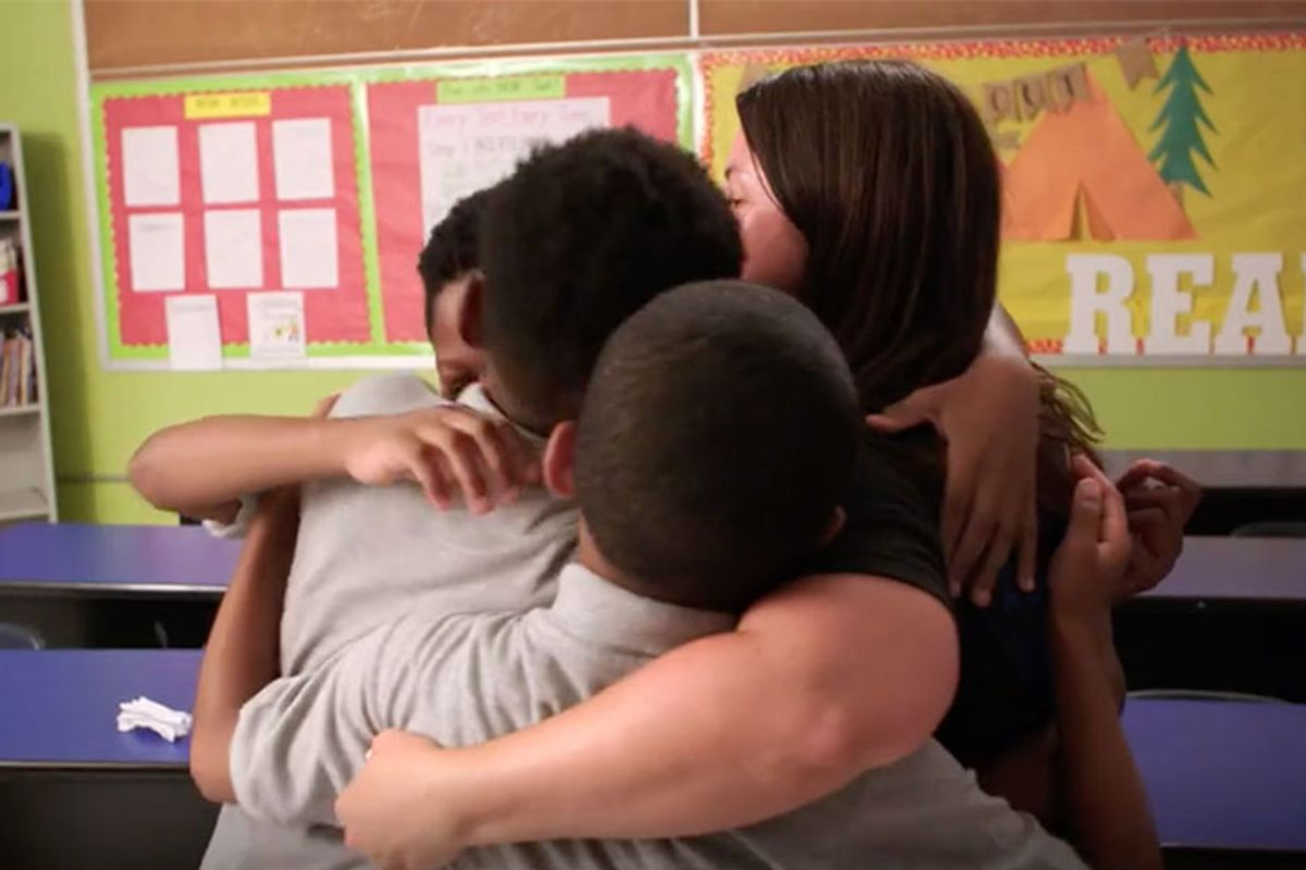 Philadelphia teacher boosts achievement in students and self: 'She believes in you'