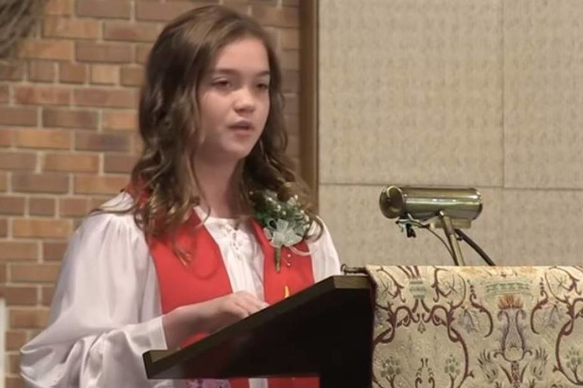 Another Methodist teen rejects church membership before the entire congregation to protest anti-LGBT policies