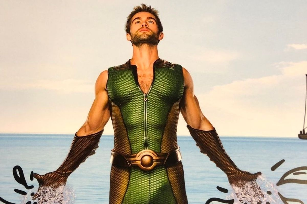 Behold Chace Crawford's Bulge in This 'The Deep' Ad
