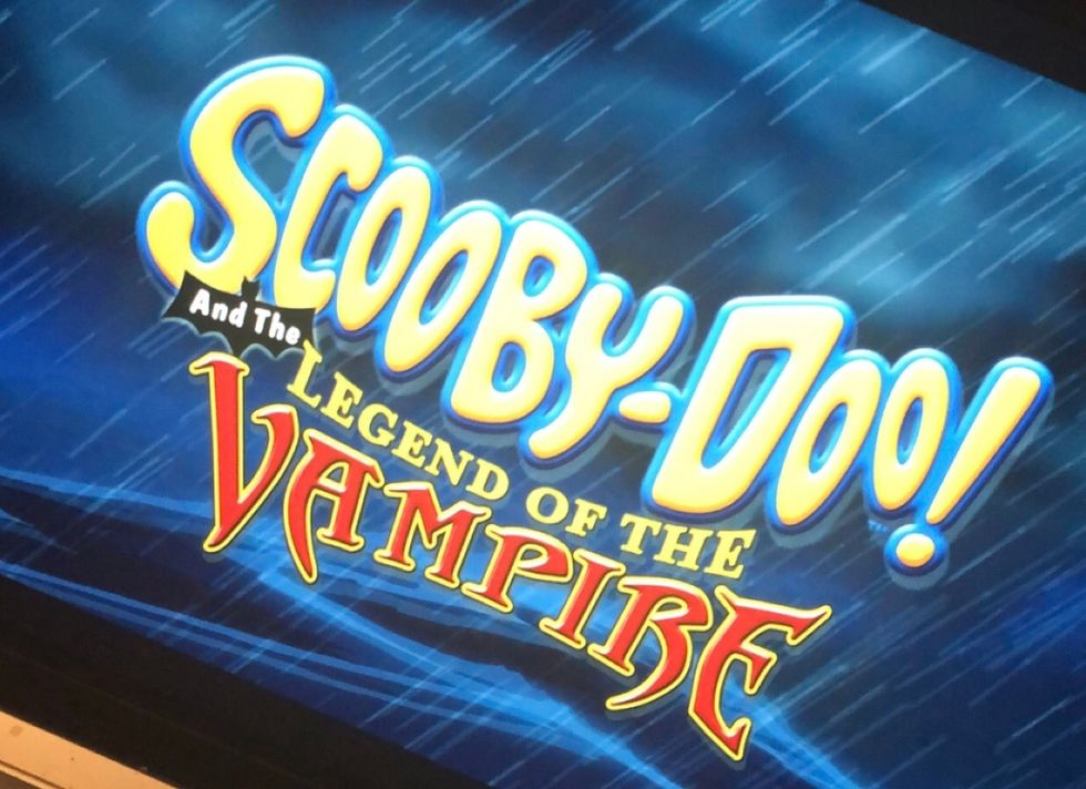 """Thowback to: """"Scooby-Doo And the Legend of the Vampire"""""""